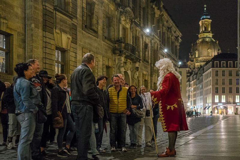 Mit dem Nachtwächter durch Dresdens Altstadt