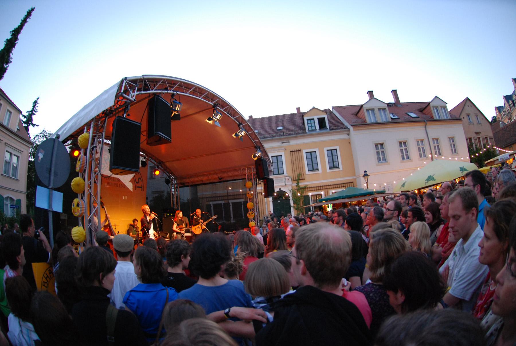 Elbhangfest - BŸühne Loschwitz