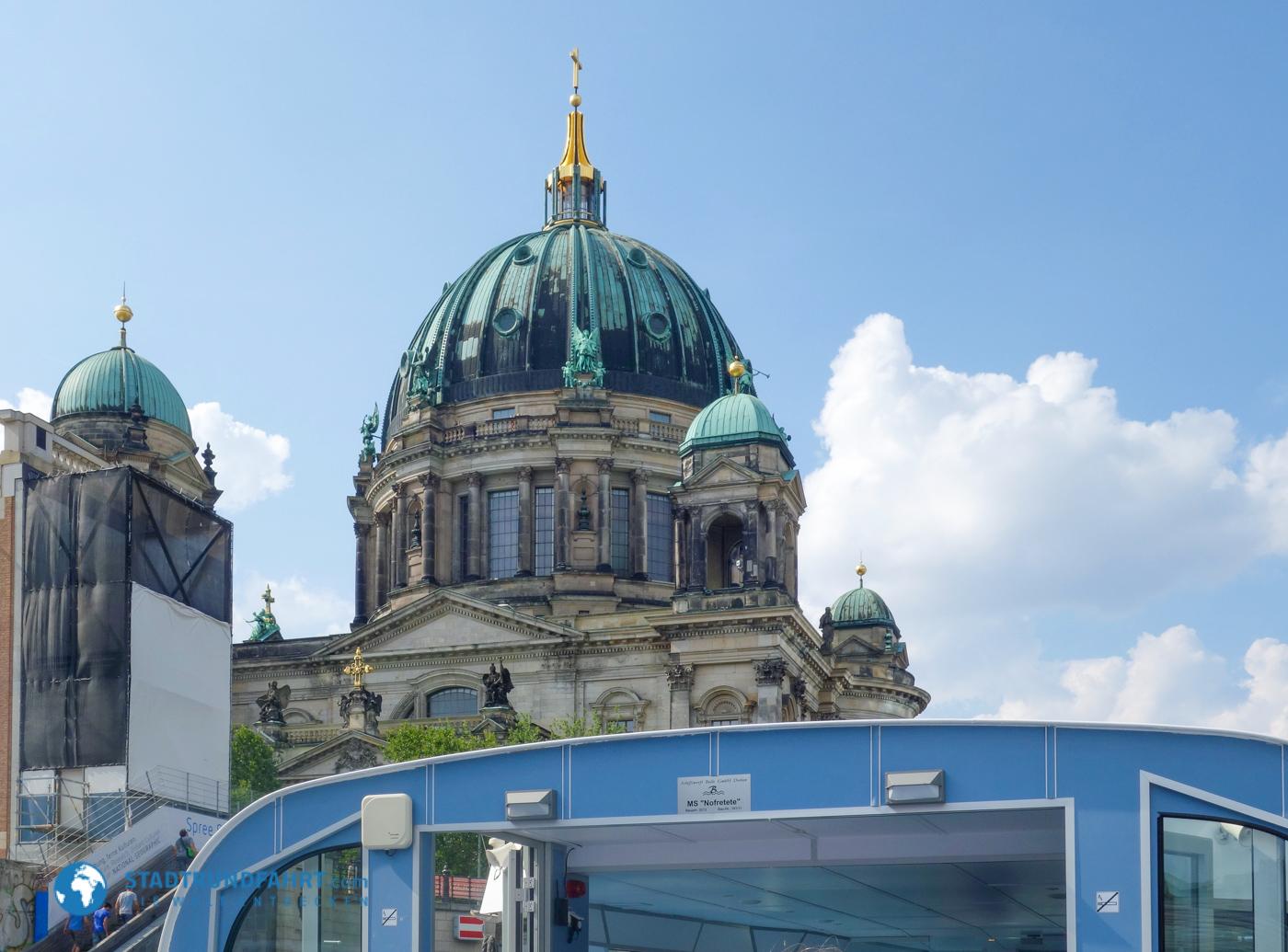 Schifffahrt auf der Spree - Auf dem Wasser durch Berlin