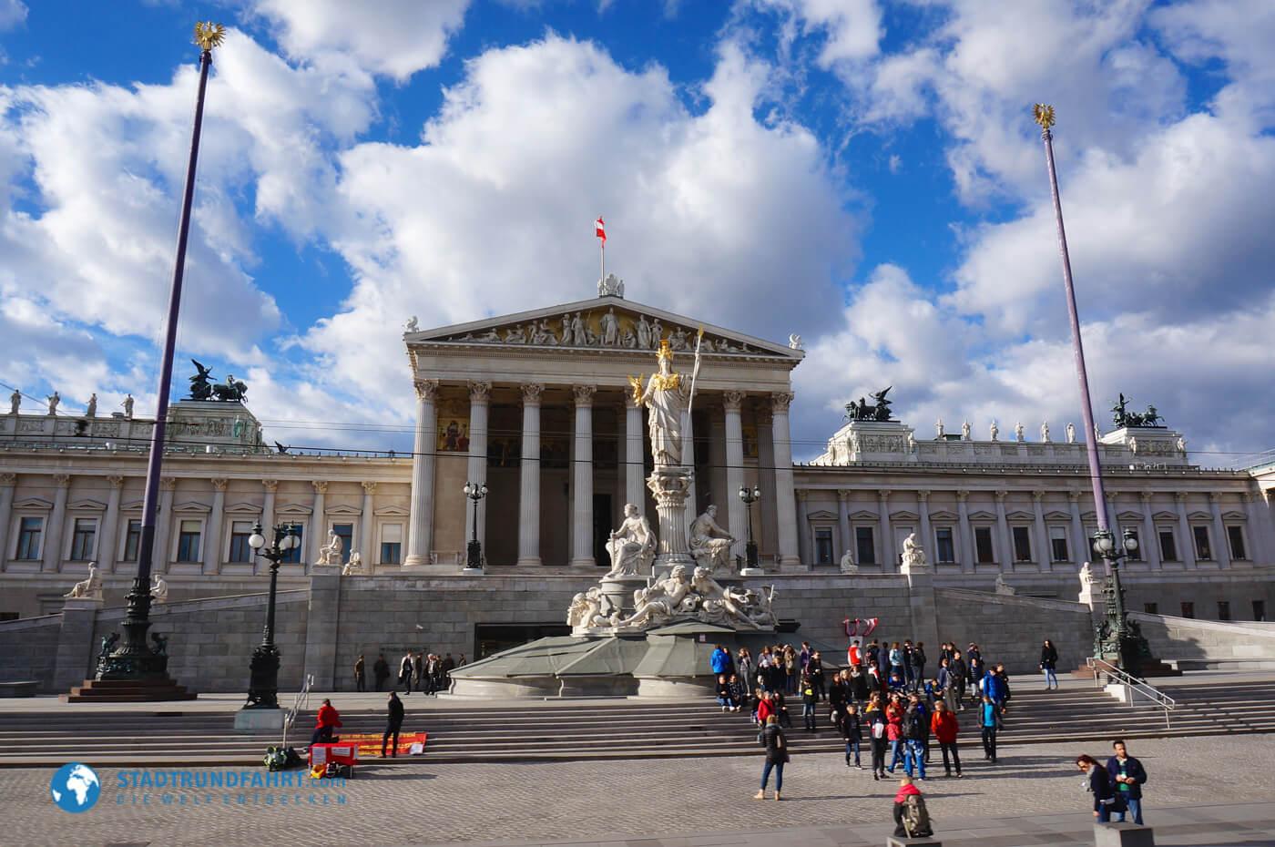 Stadtrundfahrt in Wien - 14 Haltestellen mit vielen Highlights