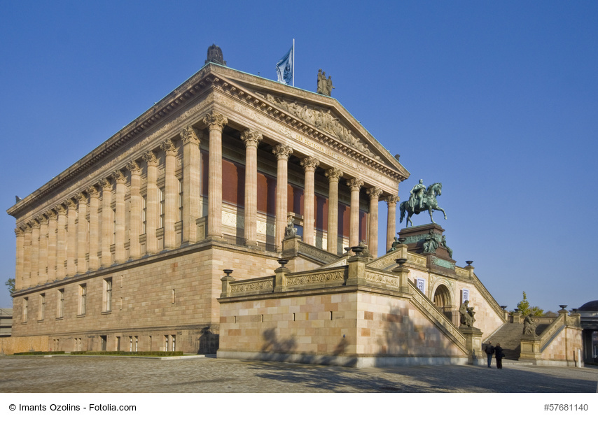 Alte Nationalgalerie on Museumsinsel in Berlin, Germany