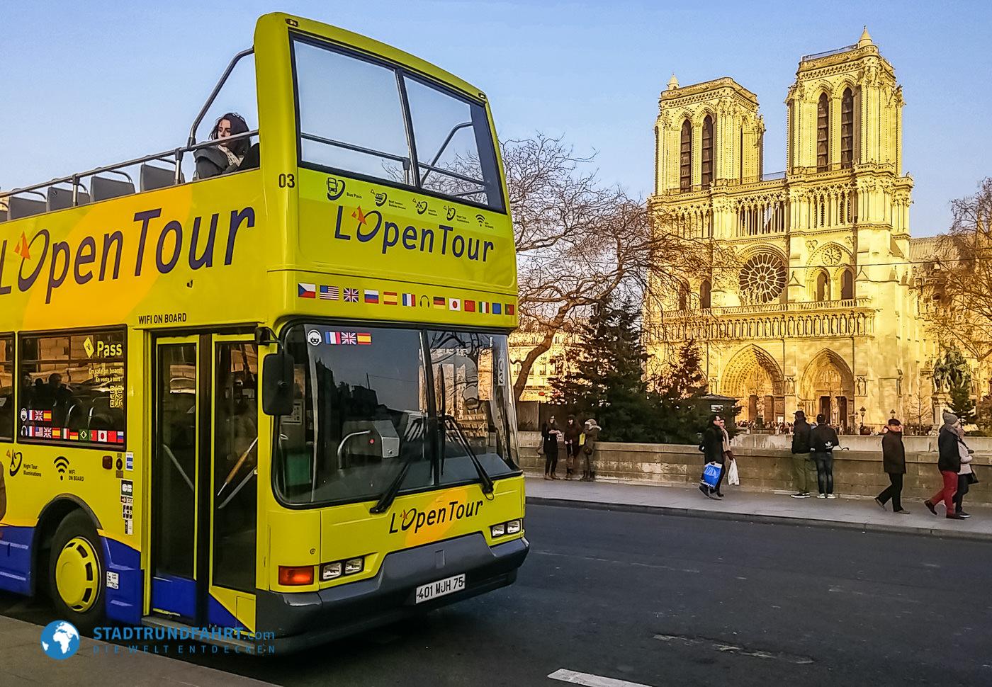 Die Große Stadtrundfahrt - Paris im eigenen Rthythmus entdecken