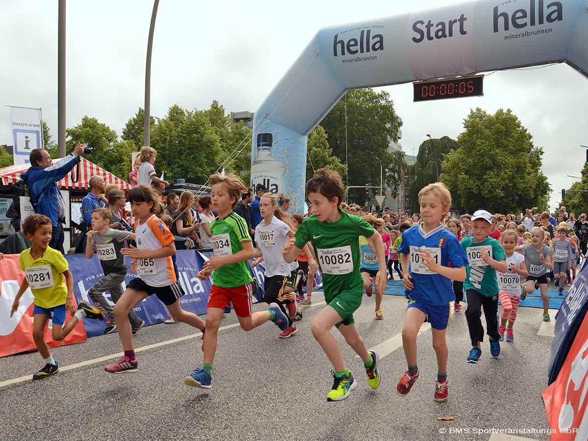 Hella Halbmarathon Kinder