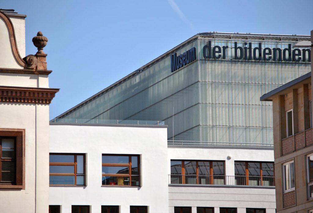 Das Museum für bildende Künste gehört zu den meistbesuchten Museen in Leipzig.