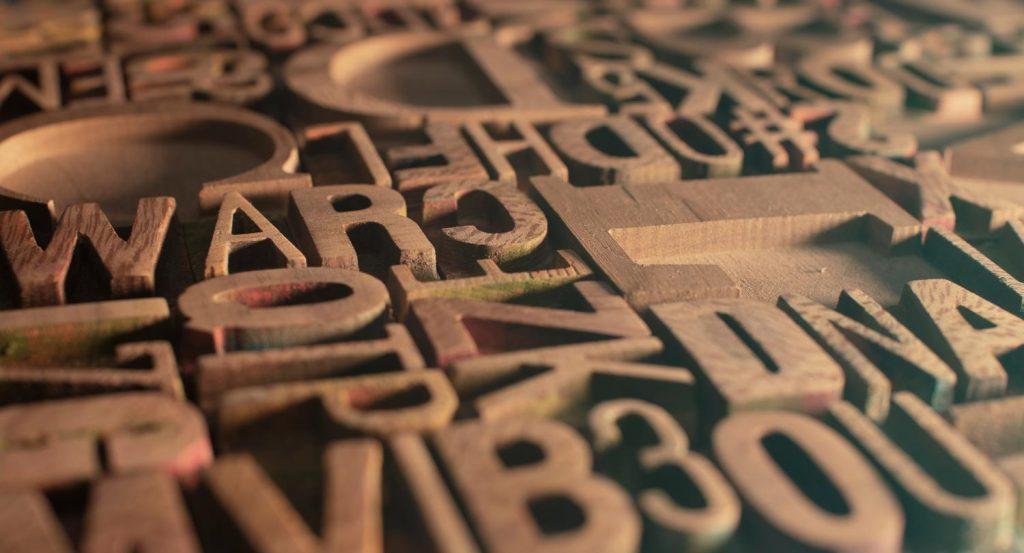 Letter dienten als wichtiges Hilfsmittel beim Drucken von Büchern, Plakaten und Zeitungen.