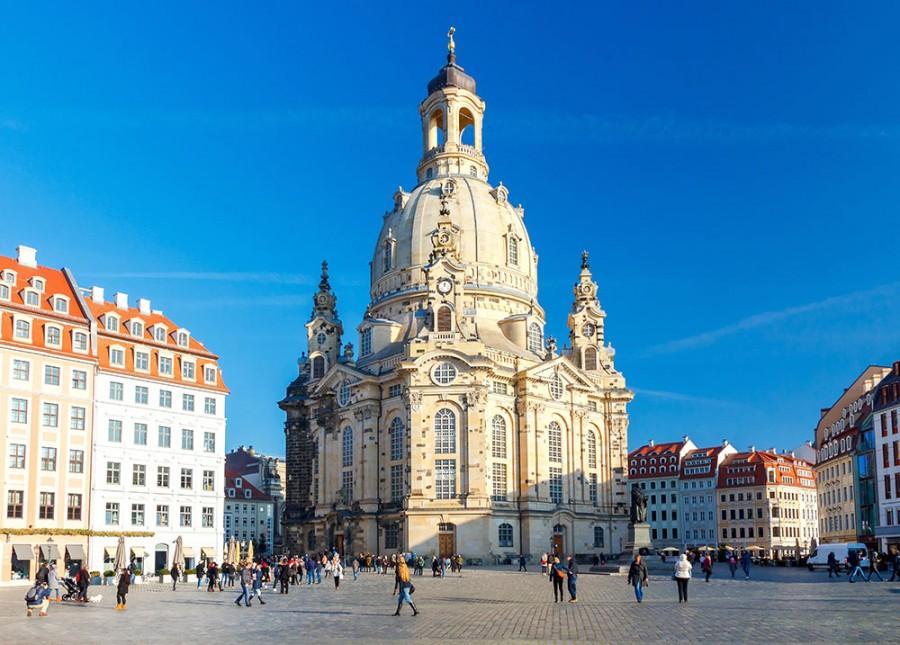 Kuppelaufstieg Frauenkirche - Bild 1