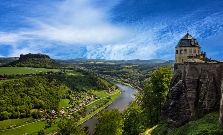 Kurfürstlicher Ausflug auf die Festung Königstein