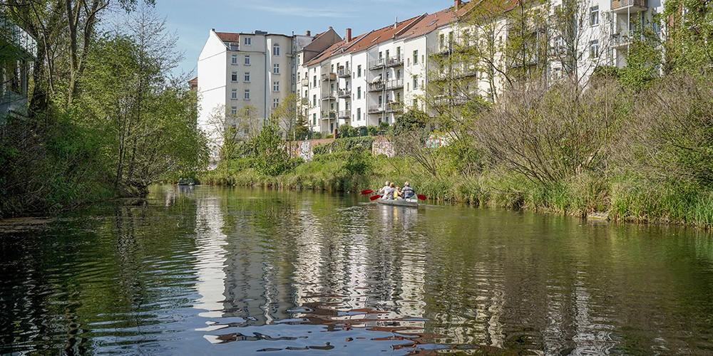 Geführte Kanufahrt - Lindenauer HafenTour - Bild 3