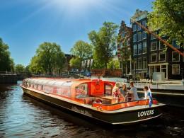 Grachtenfahrt - Amsterdam Zentrum