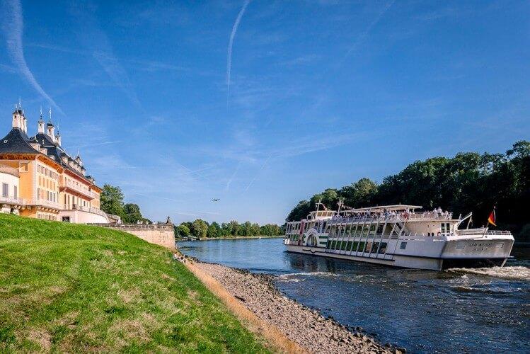 Schlösserfahrt - von Dresden nach Pillnitz und zurück - Bild 1