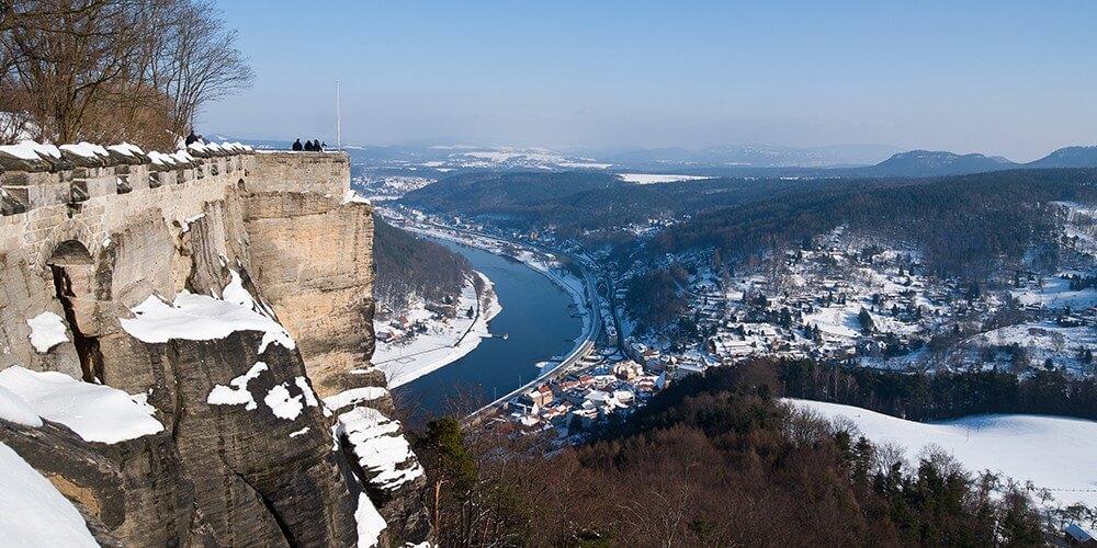 Winterwunderland Sächsische Schweiz - Bild 3