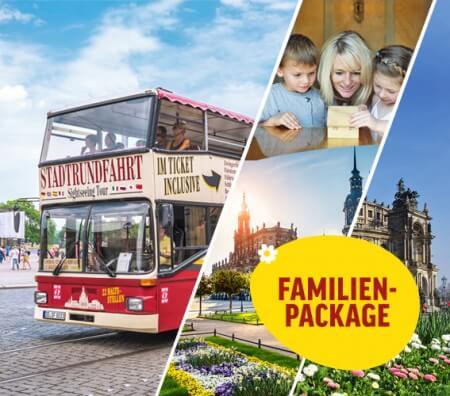 Stadtrundfahrt mit Familienführung in der Oper, Osterspaziergang und 2. Tag gratis