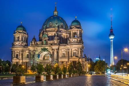 Abendfahrt durch Berlin