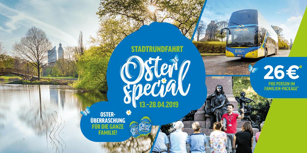 Stadtrundfahrt mit Osterspaziergang & Osterei - Bild 1