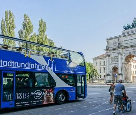 Grosse Stadtrundfahrt - alle Highlights für 24 Std.