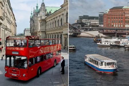 Hafenrundfahrt & Große Stadtrundfahrt