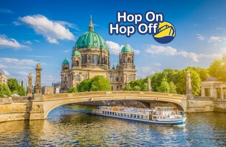 Hop on Hop off - Spreerundfahrt 24 Std.