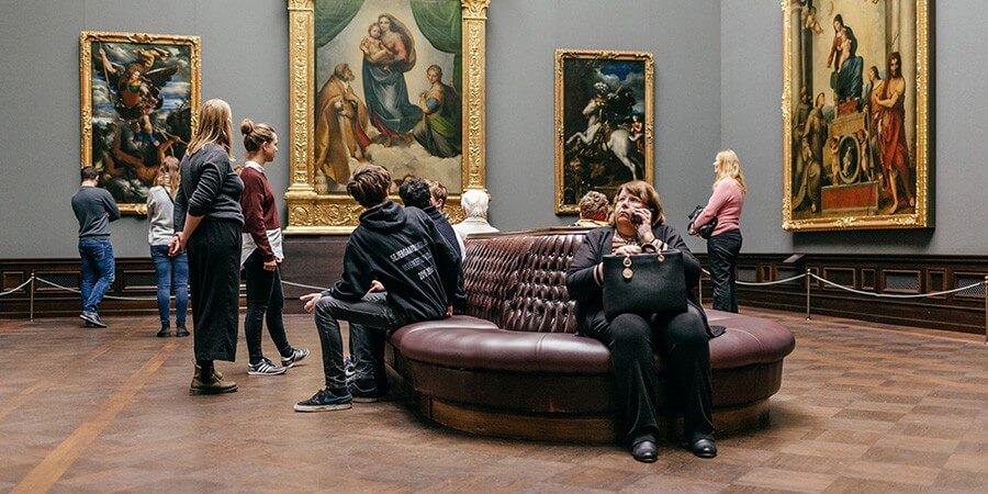 Blaue Stunde Gemäldegalerie Alte Meister - Bild 3