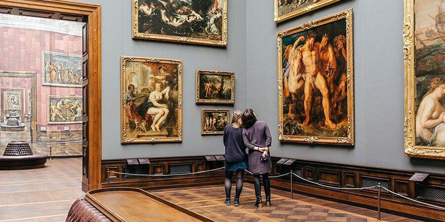 Blaue Stunde Gemäldegalerie Alte Meister - Bild 1