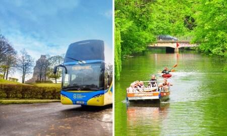 GROSSE ENTDECKERTOUR - mit Bus & Boot