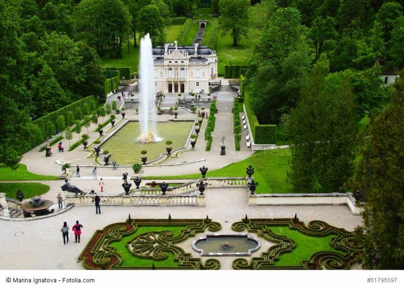 Ausflug Schloss Linderhof & Oberammergau - Bild 4