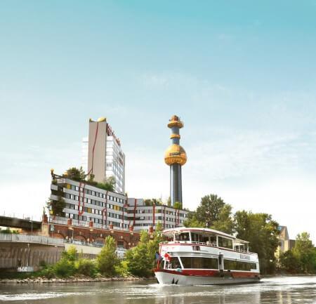 Stadtrundfahrt + Donauschifffahrt - 24 Std. Ticket