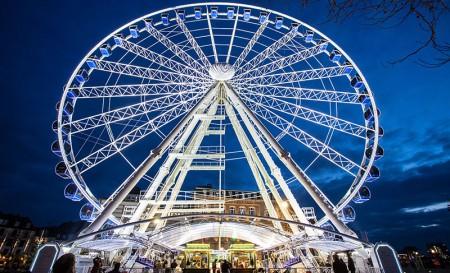 Kombiticket: Wheel of Vision - Dresden per Riesenrad zzgl. Stadtrundfahrt