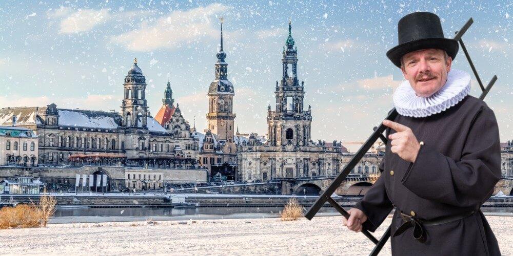Dresdner Weihnachtsmärchen - Weihnachtliche Rundfahrt & Rundgang Weihnachtsmärkte - Bild 1