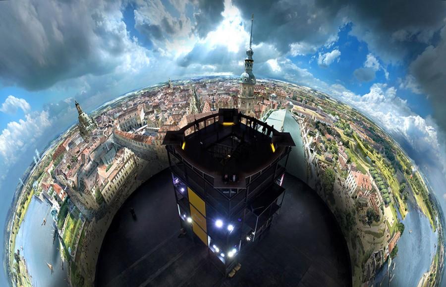 Panometer - Asisi Panorama: Dresden im Barock - Bild 4