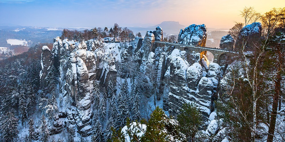 Winterwunderland Sächsische Schweiz - Bild 1