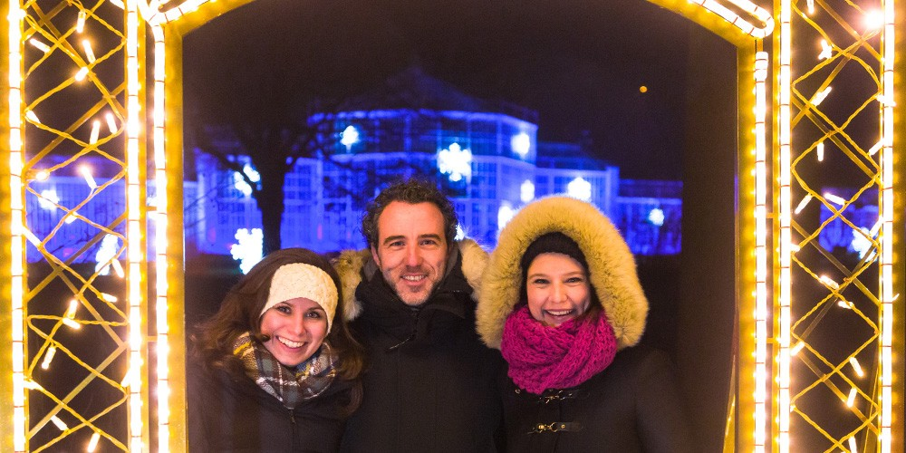 Eintritt Christmas Garden Pillnitz + Rundfahrt im Weihnachtsbus - Bild 4