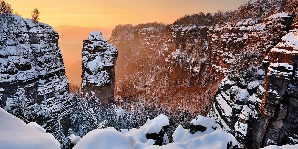 Winterwunderland Sächsische Schweiz - Bild 2
