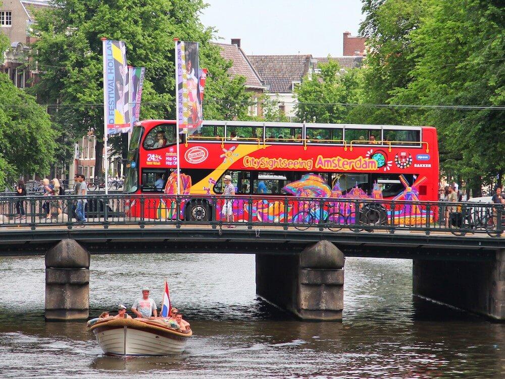 Große Stadtrundfahrt 12 Haltestellen - 24 Std. Ticket - Bild 1