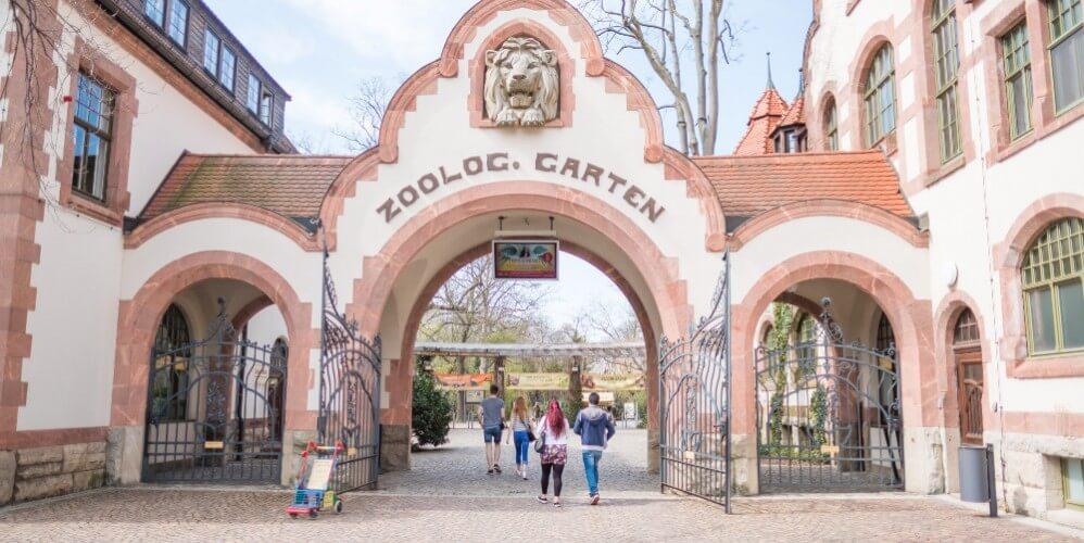Eintritt Zoo Leipzig - Bild 1