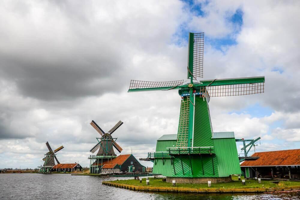 Ausflug Käsemarkt Alkmaar & Besichtigung Windmühlen - Bild 4
