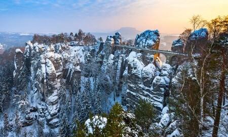 Winterwunderland Sächsische Schweiz