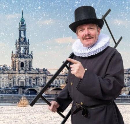 Dresdner Weihnachtsmärchen - Rundfahrt + Rundgang mit dem Pflaumentoffel
