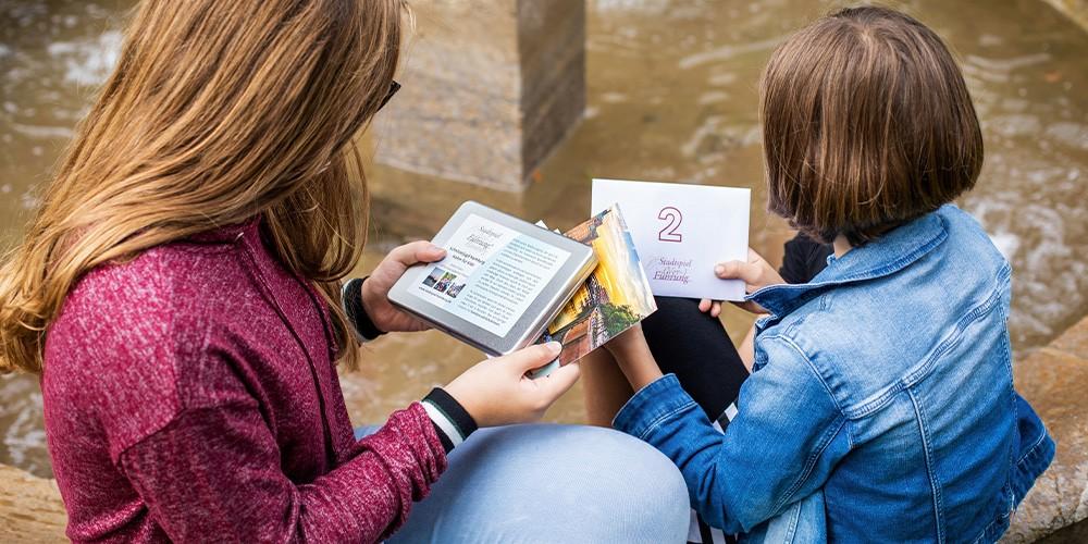 Stadtspiel für Kids - Eine spannende Schnitzeljagd durch den Hamburger Hafen - Bild 1