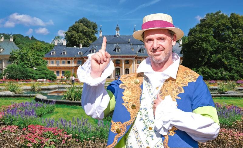 Ausflug Schloss Pillnitz - Der Gärtner des Maharadschas