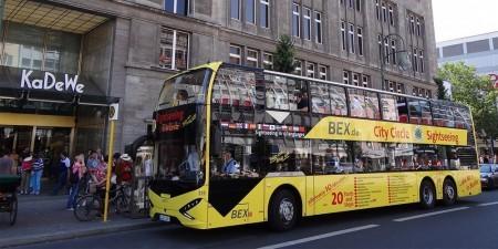 24 Std. Kombiticket: 18 + 8 Haltestellen Stadtrundfahrt