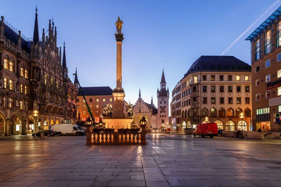 München bei Nacht - Bild 2