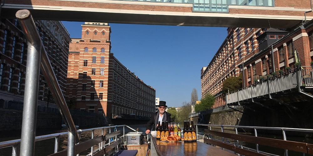 Bier & Brez\'n-Tour zum Lindenauer Hafen - Bild 4