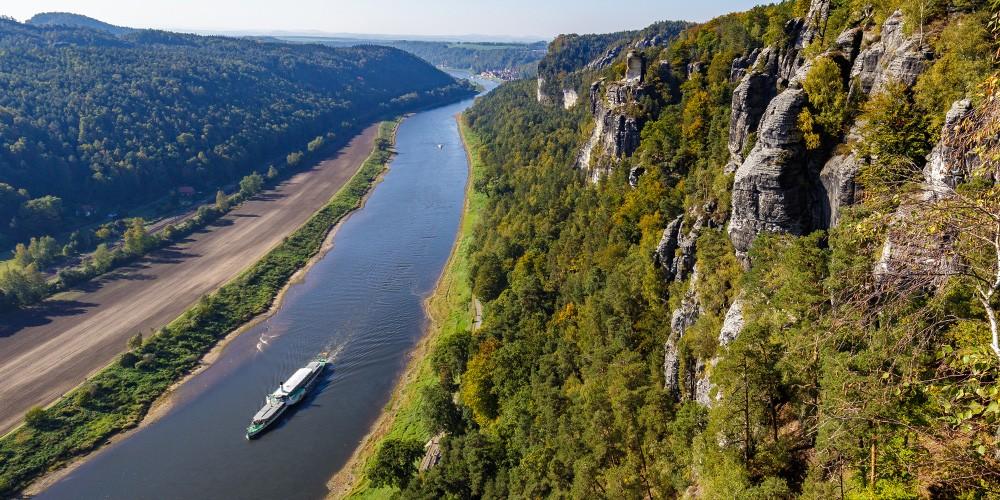 Sächsische Schweiz - Von Dresden per Raddampfer durch den Nationalpark! - Bild 1