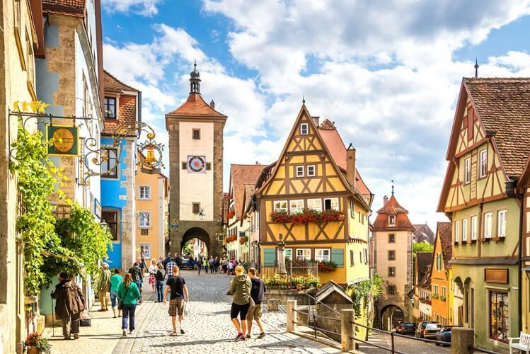 Ausflug Rothenburg & Harburg - Bild 1