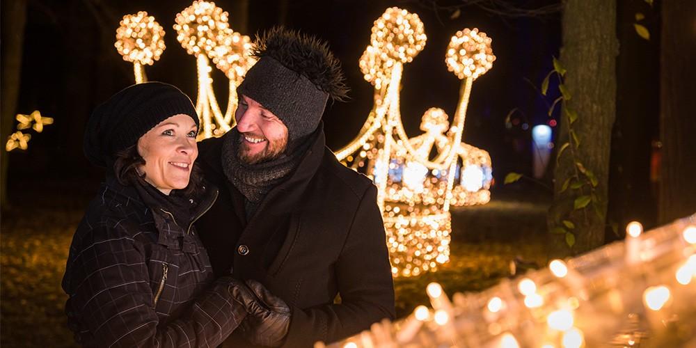 Eintritt Christmas Garden Pillnitz + Rundfahrt im Weihnachtsbus - Bild 2