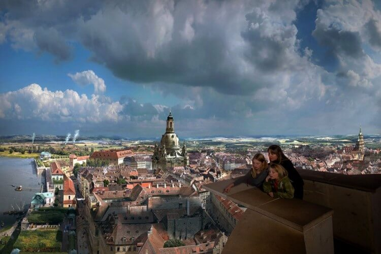 Panometer - Asisi Panorama: Dresden im Barock - Bild 3