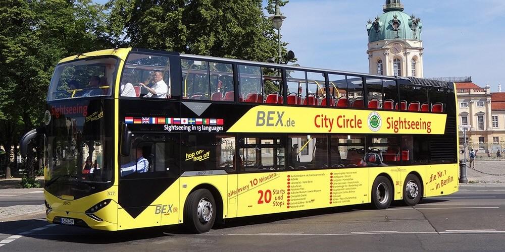 Stadtrundfahrt 18 Haltestellen - 2 Tage - Bild 1