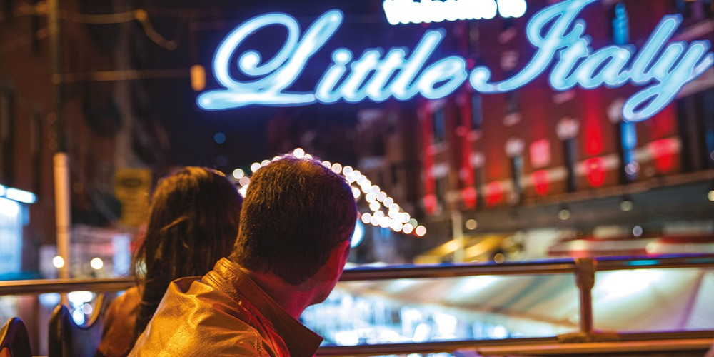 Stadtrundfahrt bei Nacht - Bild 1