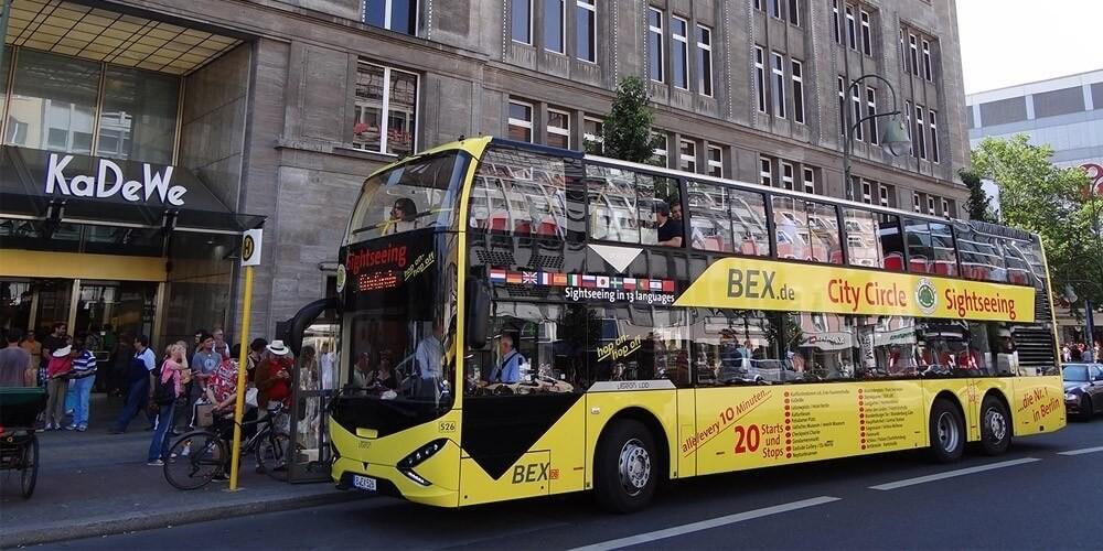 24 Std. Kombiticket: 18 + 8 Haltestellen Stadtrundfahrt - Bild 1