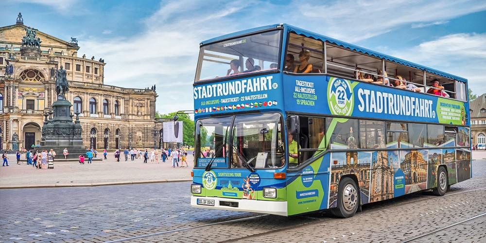 Die Große Stadtrundfahrt Hop on Hop off mit 22 Haltestellen - Bild 1